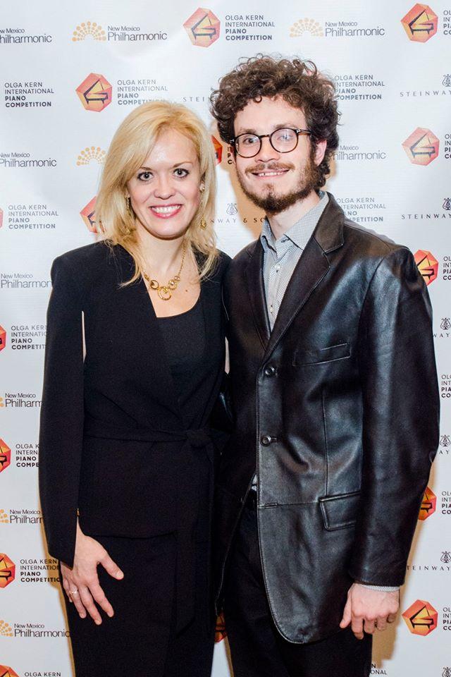 Olga Kern and Joshua Rupley